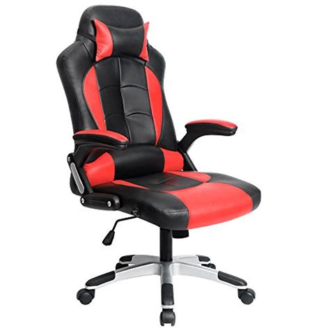 homall executive swivel leather gaming chair racing style