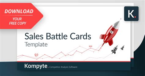 Battle Template Sales Battle Cards Template Free Kompyte