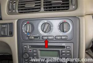 Volvo V70 Climate Control Panel And Bulb Replacement  1998