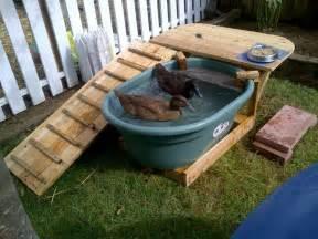 DIY Duck Pool Deck