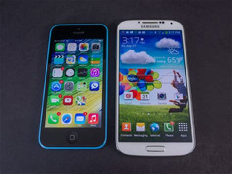 how many inches is a iphone 5c its all about style apple iphone 5c vs samsung galaxy s4