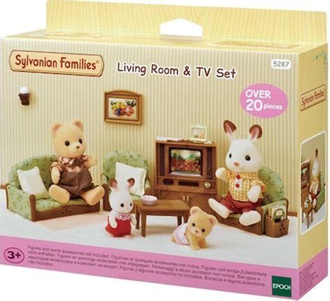 Sylvanian Families Wohnzimmer Und Fernseh Set 5287 Bei