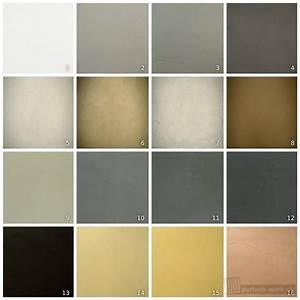 Farbe Auf Beton : beton cire betonoptik mustermaterial 16 farben parkett ~ Michelbontemps.com Haus und Dekorationen