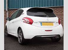 Peugeot 208 GTi gets the Scorpion Exhaust treatment