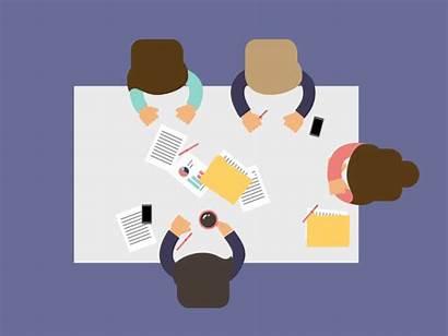 Meeting Meetings Dribbble Why Boring Animation Scenes