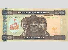 Nakfa Eritrean currency