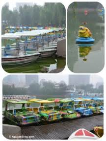 Paddle Boats For Rent by In Search Of Yarn At Tuanjiehu Market Agujas