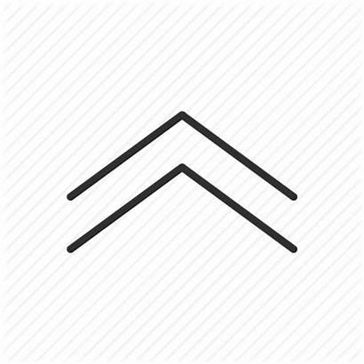 Arrow Scroll Icon Symbol North Thin Direction