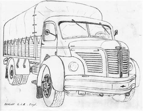 dessin perso camions  antan  actuel