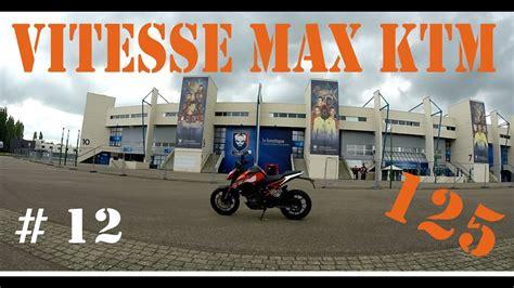 ktm duke 125 caen vitesse max freinage d urgence - Ktm Duke 125 Vitesse Max