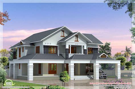 bedroom homes luxury  bedroom villa kerala house design luxury house plans kerala