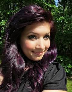 Ms De 25 Ideas Increbles Sobre Dark Purple Hair Dye En