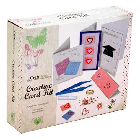 Check spelling or type a new query. Make Your Own Greeting Cards Kit Card-Making Create Personalised Craft Set | eBay