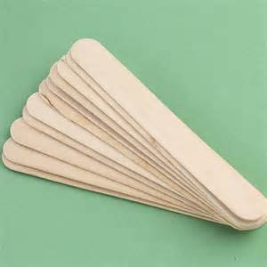 wood wedding invitations jumbo wood popsicle sticks popsicle sticks and fan