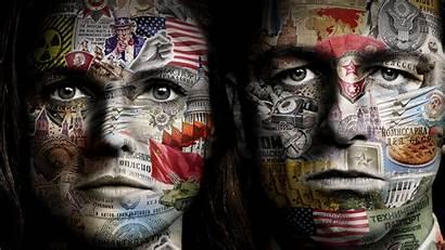 Americans Tv Fanart Series Background Face Language