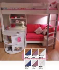hochbett mit sofa best 20 bunk bed with desk ideas on