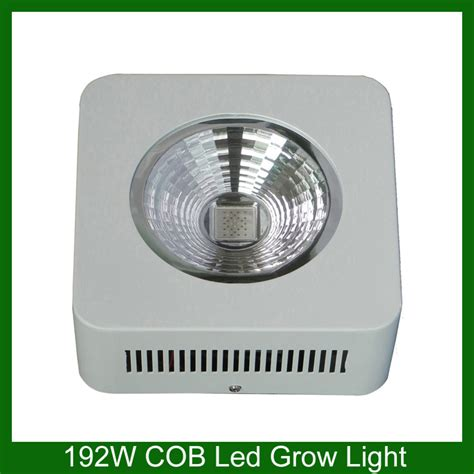cheap mini 192w white color spectrum cob led grow light for hydroponic system in grow