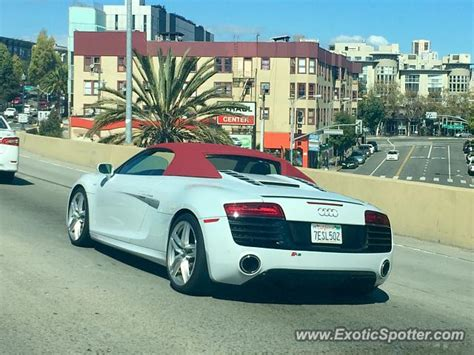 audi r8 spotted in san francisco united states 10 04 2016