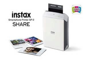 fujifilm instax smartphone printer fujifilm instax sp 2 portable photo printer