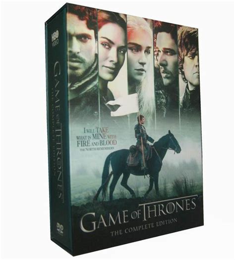 game  thrones seasons   dvd box setbuy game