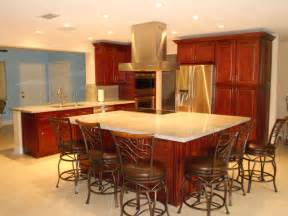 kitchen island cherry wood kitchen cabinets south florida kitchen designs