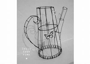 Fil De Fer Recuit : arrosoir fil de fer recuit 3 photo de fil de fer ~ Dailycaller-alerts.com Idées de Décoration