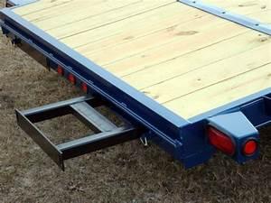 Wood Floor Car Hauler Trailer