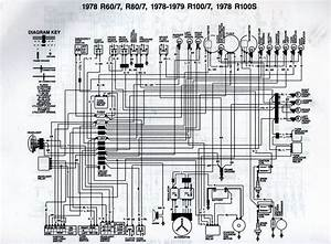 1978 Bmw R80  7 Wiring Diagram