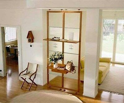 mensole in ciliegio parete divisorio mensole quinta in ciliegio e vetro ebay