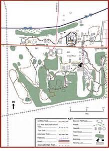 Cahokia Mounds Trail Map