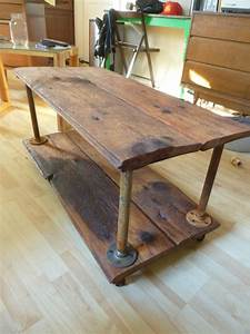 giving old wood a new life wood table With coffee tables made from old barn wood