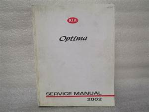 2002 Service Manual Kia Optima