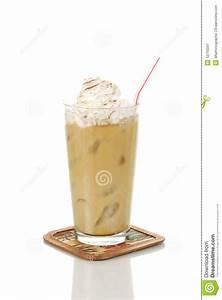 Iced Latte Stock Image - Image: 12710341