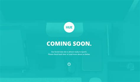 responsive coming  page templates web design beat