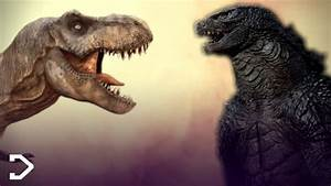 How Much Larger Is Godzilla Than A T Rex  Size Comparison