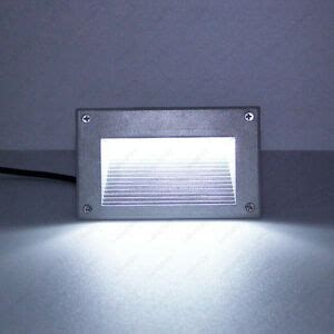 outdoor 3w led wall sconce light corner l square step