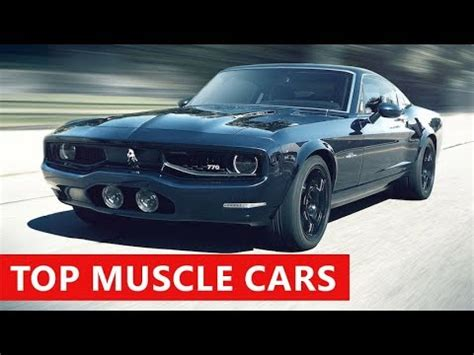 10 new muscle cars american coming in 2018 best fast cars 2018 youtube