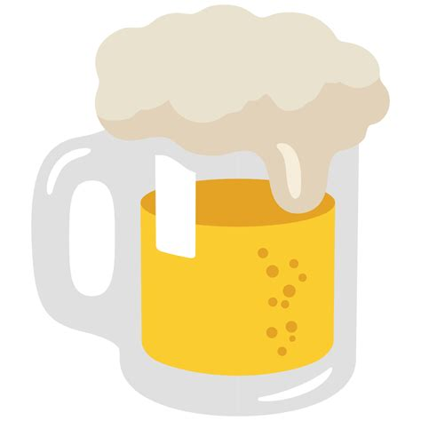 beer emoji file emoji u1f37a svg wikimedia commons