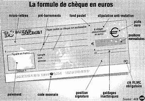 Cheque Cadhoc Ou Les Utiliser : comment utiliser les ch ques en euros ~ Dailycaller-alerts.com Idées de Décoration