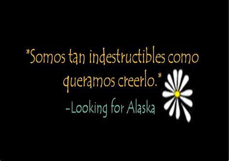 las mejores frases de buscando a alaska de green