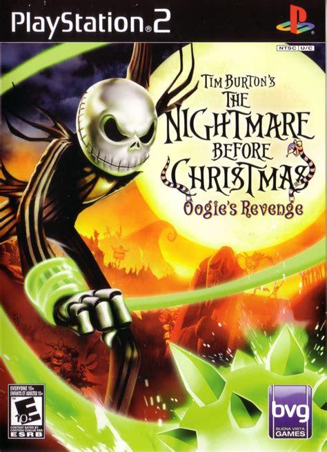 tim burtons  nightmare  christmas oogies revenge  playstation   mobygames