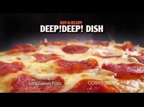 Deep Dish Little Caesars Pizza Comerciales Televisión ...