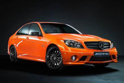 orange mercedes mercedes unveils c63 amg concept 358 sls amg at sydney