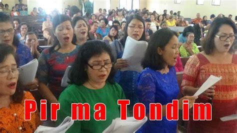 You can streaming and download for free here! Lagu Rohani Batak Pir ma Tondim   Rohani, Bernyanyi, Perkawinan