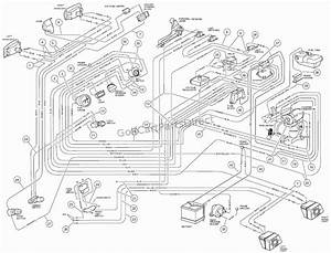 Club Car 48v Wiring Diagram