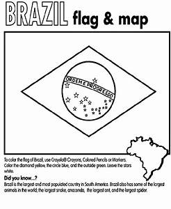 Brazil Coloring Page Crayolacom