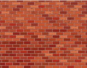 Red brick wall seamless free vector in adobe illustrator
