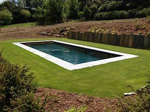 photo de piscines realisations dans le calvados With volet roulant piscine gris