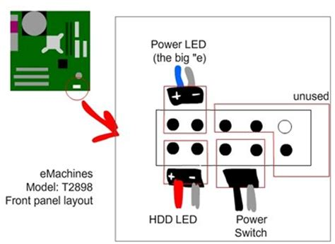 Solved Emachine Motherboard Diagram Fixya