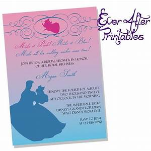 1000 images about bridal shower invitations on pinterest With sending wedding invitations to disney princesses